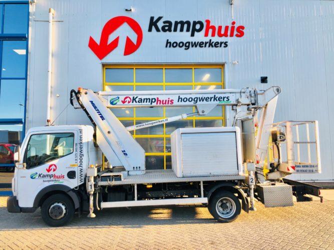 20 meter autohoogwerker met jib Multitel