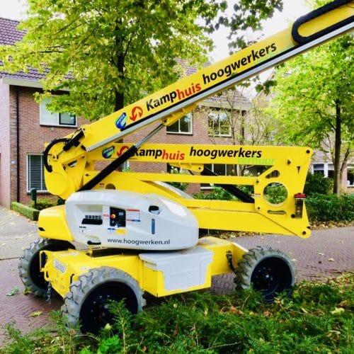 21 meter zelfrijdende hybride, bomen snoeien (3)