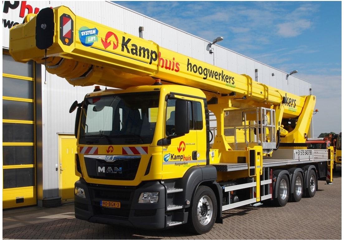 72 meter vrachtautohoogwerker