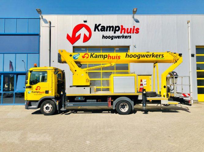 33 meter vrachtwagenhoogwerker MAN