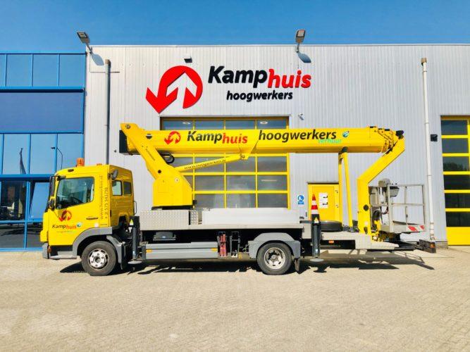 33 meter vrachtwagenhoogwerker MB