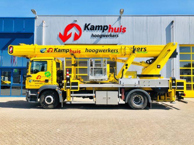40 meter vrachtwagenhoogwerker