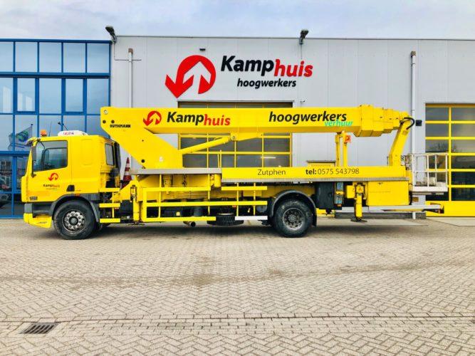 42 meter vrachtwagenhoogwerker