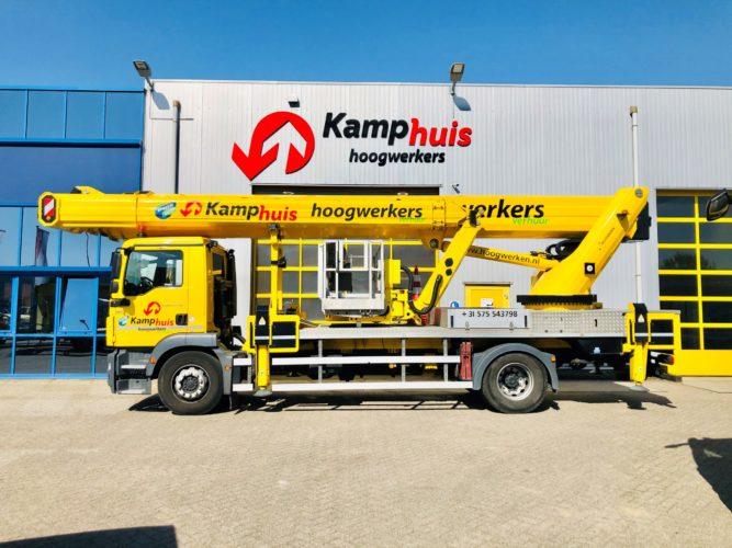 48 meter vrachtwagenhoogwerker