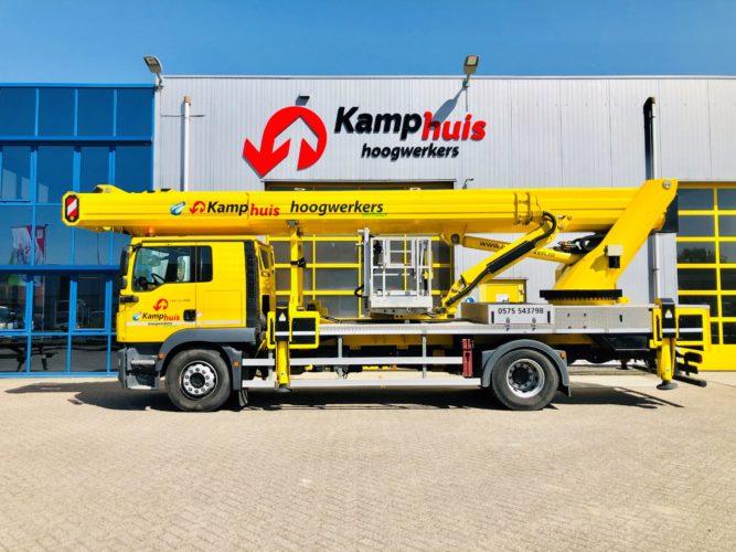 51 meter vrachtwagenhoogwerker