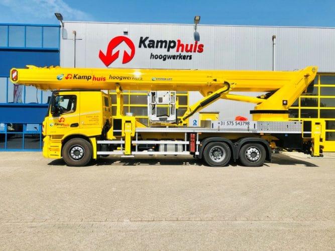 57 meter vrachtwagenhoogwerker
