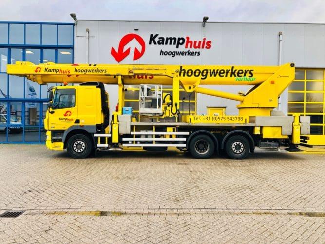 58 meer vrachtwagenhoogwerker