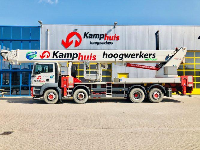 70 meter vrachtwagenhoogwerker