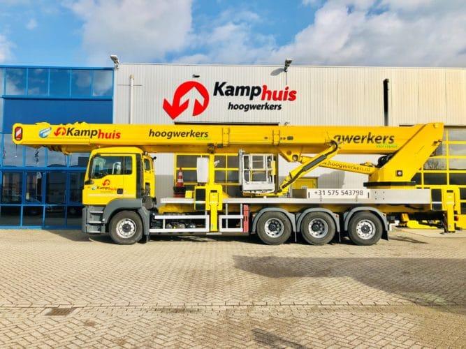 75 meter vrachtwagenhoogwerker