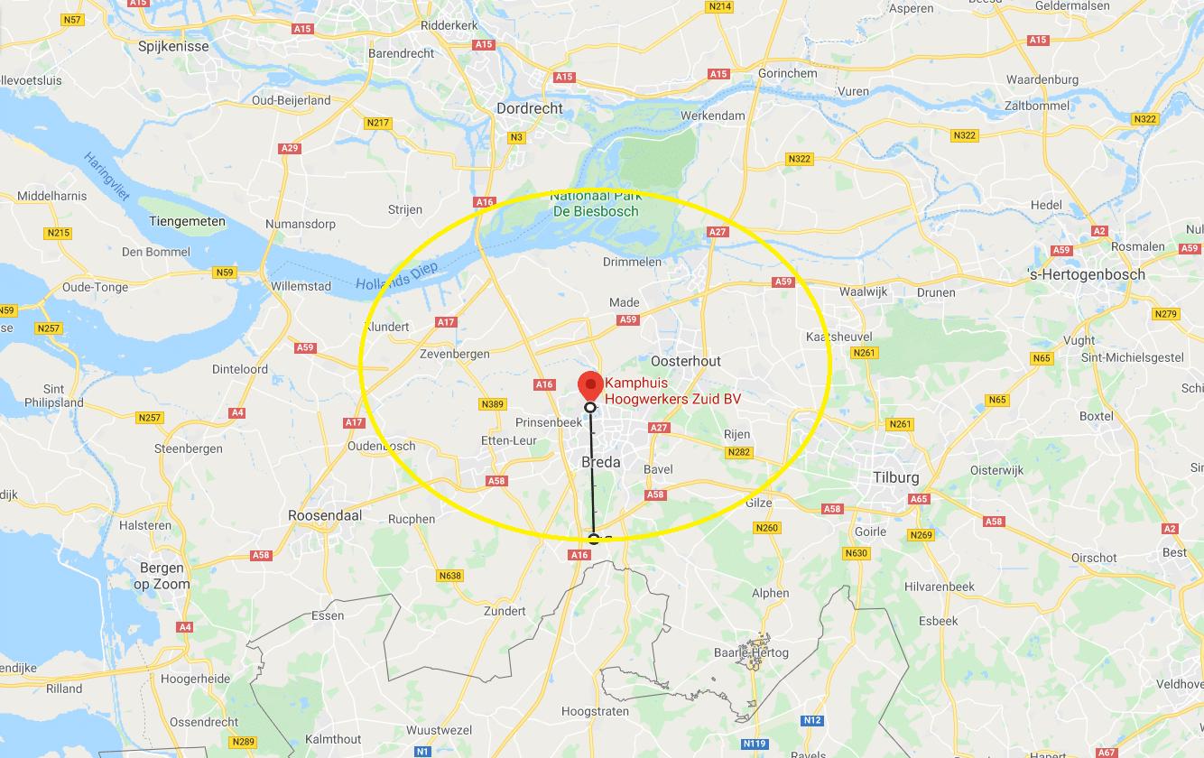 Gratis bezorgen rondom Breda