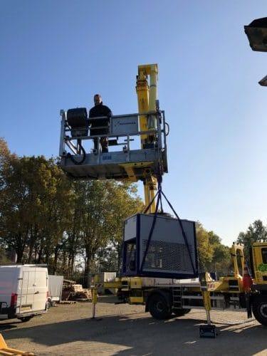 Tilhulp Lift-ups systeem vrachtautohoogwerker 2